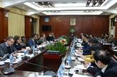 Une mission du Parlement européen à Hanoï