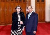 La vice-présidente du Parlement européen Heidi Hautala reçue à Hanoï