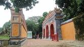 Restauration douvrages du palais Phung Tiên à Dai Nôi de Huê