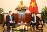 Le vice-Premier ministre Pham Binh Minh reçoit l'ambassadeur des États-Unis