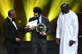 L'Egyptien Mohamed Salah, meilleur joueur africain de l'année