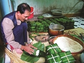 Pic d'activité dans les villages de métier à l'occasion du Têt