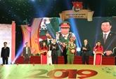 Hanoï: mise à l'honneur des 10 figures exemplaires de la jeunesse 2018