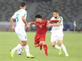 Le match plaisant entre le Vietnam et l'Irak loué par les médias des EAU