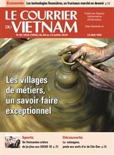 Les plus belles Unes du Courrier du Vietnam 2018
