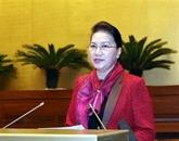 La présidente de l'AN demande d'améliorer le travail législatif