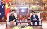 Renforcement de la coopération Hanoï - État australien de Victoria