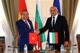 Le Vietnam apprécie ses relations avec la Bulgarie