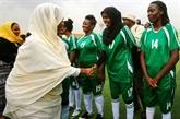 Coup d'envoi de la ligue féminine de football au Soudan