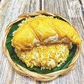 Riz gluant au durian