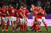 Mondial de rugby : le pays de Galles et l'Australie en quarts de finale
