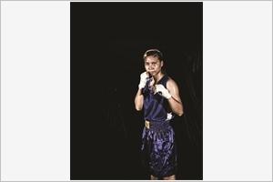 Hà Thi Linh la première boxeuse professionnelle vietnamienne