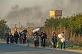 Syrie : les civils fuient l'avancée des forces turques
