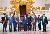 Le Premier ministre reçoit des investisseurs étrangers