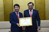 Dà Nang veut promouvoir sa coopération avec la ville sud-coréenne de Daegu