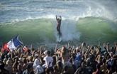 Circuit Pro de surf : le Français Jérémy Florès s'offre une victoire exceptionnelle