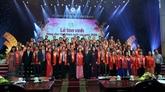 Une soixantaine d'agriculteurs vietnamiens exemplaires à l'honneur