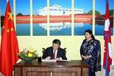 Xi Jinping promet une voie ferrée et un tunnel entre leNépal et la Chine