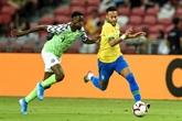 Le Brésil accroché par le Nigeria, Neymar se blesse et inquiète le PSG