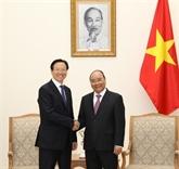 Le Premier ministre reçoit le ministre chinois de l'Agriculture et des Affaires rurales