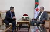 L'Algérie veut promouvoir la coopération avec le Vietnam