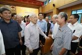 Nguyên Phu Trong à la rencontre des électeurs de Hanoï