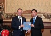 Hô Chi Minh-Ville promeut la coopération avec l'Allemagne