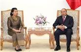 Le Premier ministre salue la coopération entre les Inspections du Vietnam et du Cambodge