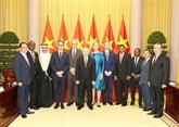Nguyên Phu Trong reçoit de nouveaux ambassadeurs