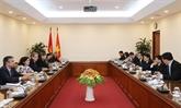 Renforcement de la coopération entre le Vietnam et Cuba