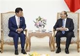 Le Premier ministre reçoit le gouverneur de la préfecture japonaise de Kagoshima