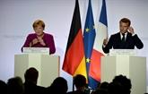 Macron et Merkel optimistes sur le Brexit, s'accordent sur la défense et le climat