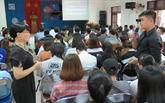 L'ONU forme des étudiants de Phu Yên à la résilience au changement climatique