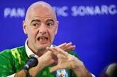 FIFA : Infantino veut une interdiction de stade mondiale contre le racisme