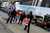 Pendant le vote sur un accord chez General Motors la grève continue