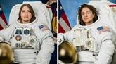 Première sortie spatiale de deux femmes dans l'espace ensemble