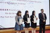 YICMG : les étudiants vietnamiens se distinguent