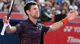 ATP : Djokovic solide passe en quarts à Tokyo