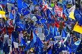 Des centaines de milliers de manifestants à Londres