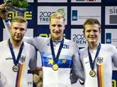 Cyclisme sur piste : Ermenault, Gros et Coquard en or à l'Euro