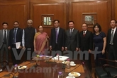 Promotion du partenariat stratégique intégral Vietnam - Inde