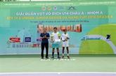Tennis : clôture des Championnats U14 d'Asie de Dà Nang 2019 - Groupe A