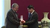 Remise de l'Ordre de l'amitié à l'Association Belgique - Vietnam
