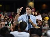 Le Canada élit ses députés, Justin Trudeau en sursis