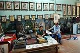 Au bonheur des images : les estampes populaires de Dông Hô