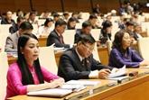 Les députés travaillent aujourd'hui sur le projet de loi boursière amendée