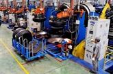 L'indice de production industrielle en hausse en neuf mois
