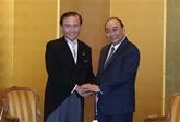 Le Premier ministre reçoit le gouverneur de la préfecture de Kanagawa