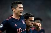 C1 : troisième victoire en trois matches pour le Bayern