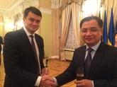 Vietnam et Ukraine renforcent leur coopération législative